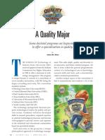 A Quality Major