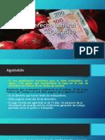 Derecho Laboral Corporativo (Aguinaldo.