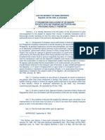 Philippines Bank Secrecy Law 1993.pdf