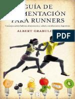 Guia de Alimentación Para Deportistas, Atletas y Runners