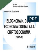 Blockchain Clase 1 28-09-2018