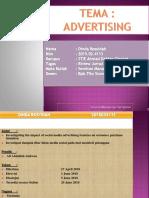 Riview Jurnal International Tema Advertising Mata Kuliah Seminar Manajemen Pemasaran