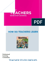 Teacher Study Groups (Tsg)