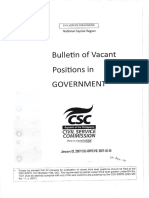 CAAP Bulletin of Vacant Positions January 13 2017