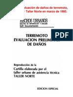 Manual de Evaluación de daños del terremoto de 1985