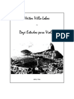 (E-Book Classical Guitar) - Villa Lobos Guitar Etudes.pdf