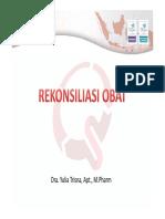 Dra Yulia Trisna - Rekonsiliasi Obat WS PKPO KARS 13 Juli 2018