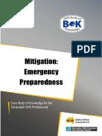 35 Control Mitigation Emergency Preparedness