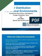 Air Dist for Critical Environments 2014