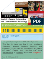 Logistic Engineering - System Logistic Information