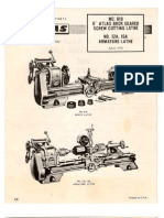 Atlas 618 Lathe Manual