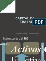 Capital de Trabajo y Ciclo de Efectivo