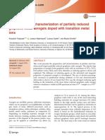 Tadyszak2018 Article PreparationAndCharacterization