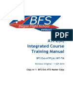 Belgian Flight School -  Atpl(a) Integrated training manual