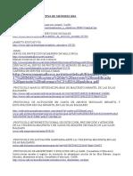 Normativa y Protocolos Menores