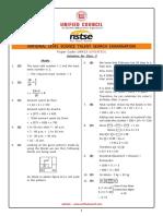 Class 3 - NSTSE 2017 Set A Solutions 3_Solution.pdf