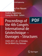 (Lecture Notes in Civil Engineering 8) Hoang-Hung Tran-Nguyen,Henry Wong,Frederic Ragueneau,Cuong Ha-Minh (Eds.)- Proceedings of the 4th Congrès International de Géotechnique - Ouvrages -Structures_