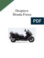 Despiece Honda Forza 2009