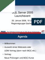 SQL Server 2005 Launchevent