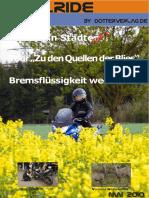 Motorrad-Magazin JustRide Mai 2010