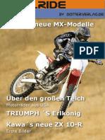 Motorrad-Magazin JustRide August 2010