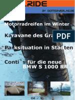 Motorrad-Magazin JustRide April 2010