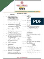 Class 4 - Nstse 2013 Solutions 4_nat_sol