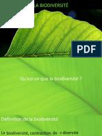 Diaporama - La Biodiversite