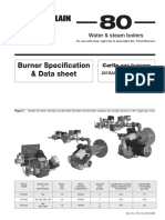 Burner Specification
