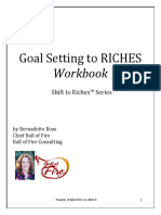 Goal Setting to RICHES Workbook