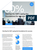 Join the 80 Percent Foundations of Devops for Sap