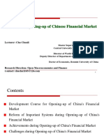 Reform and Opening-up of Chinese Financial Market.ppt