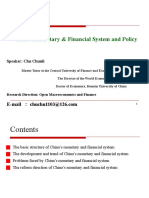 China's Monetary & Financial System and Policy.pptx