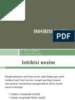 Enzyme Inhibition Minggu6