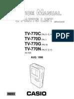 Casio+tv770cdg