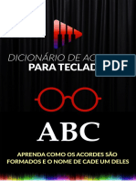 Dicionário de Acordes - Teclado