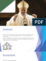 Pope Francis Dans Re Project