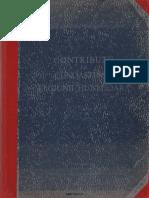 Contributii La Cunoasterea Regiunii Hunedoara 1956