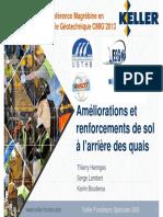 CIMG 2013 - Am%C3%A9liorations Et Renforcement de Sol %C3%A0 l%27arri%C3%A8re Des Quais