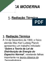 1.1. Radiação Térmica