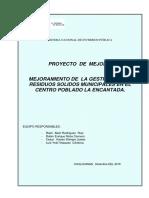 Proyecto de Manejo de Rr.ss Encantada