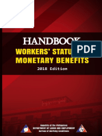 Handbook on Workers Statutory Monetary Benefits 2018 Edition