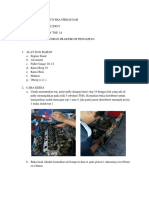 Laporan Pratikum Motor Bakar