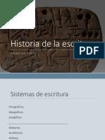Historia de La Escritura.scribd