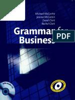 1mccarthy m Mccarten j Clark d Clark r Grammar for Business