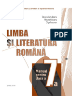VII_Limba si literatura Romana (a. 2018)