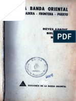 La Banda Oriental. Pradera-Frontera-Puerto