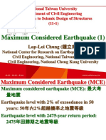 107 1 NTU SDS 11 1 Maximum Considered Earthquake