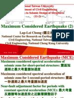 107 1 NTU SDS 11 2 Maximum Considered Earthquake