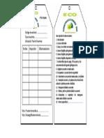 Formato Tarjeta de Inspeccion de Extintor